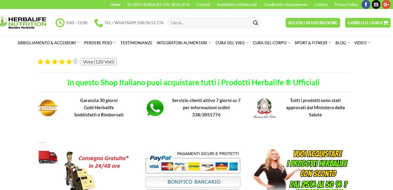 Salute e benessere herbalife mf web designer milano for Web designer milano